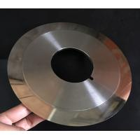 Quality Customized Cloth Cutting Knife , Slitting Carbon Paper Machine Round Cutting Blades wholesale