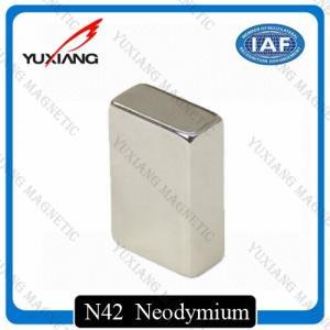 Quality Coating Nickel N45 Neodymium Magnets Rectangular 20x10x40mm Rare Earth Magnet wholesale