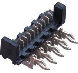 Quality 1.27mm  90°  WCON Connector  Picoflex Header Plate alignment Phosphor Bronze wholesale