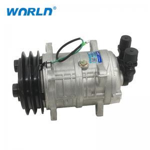 Buy cheap 24V Ac Universal Car Parts Compressor / Truck TM16 2A Automotive AC Compressor from wholesalers