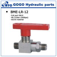 Quality High Pressure Stainless Steel Ball Valve With Locking Handle , 2 Npt Solid Modulating wholesale
