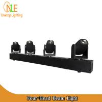 Quality 2016 New Bar White or RGBW Stage Light 4 heads 4pcs 10w led beam moving head light wholesale