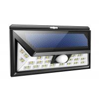 Quality 3 Side Solar LED Motion Sensor Light 24 leds IP65 Waterproof for Outdoor Patio, Deck, Yard, Driveway wholesale