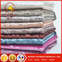 China 20 colors available elastic velvet fabric for women dress on sale