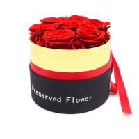 Quality Beautiful Color Favor Gift Boxes , Eternal Love Preserved Flowers In A Box wholesale