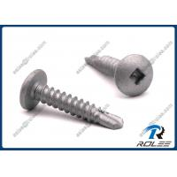 Quality Disgo 410 Stainless Robertson Square Drive Truss Head Self-drilling Tek Screws wholesale