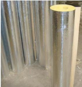 Quality Fiberglass Wool/Glass Wool Pipe/Duct/Shell Facing Aluminum Foil wholesale
