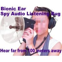 Quality Bionic Ear Remote Sound Recorder 100 meters headphone Spy Audio Listening Amplifier Bug wholesale