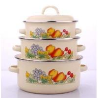 Quality Enamel Casserole 3PCS Set  (111DB) wholesale