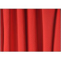 Quality Bright Red Quick Dry Mesh Dri Fit Fabric Sportswear Fabrics for Garment 1.5m * 160gsm wholesale