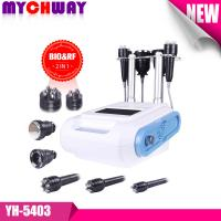 Cheap No Pulse Discharge and Electric Shock Unoisetion Ultrasonic Cavitation 5in1 Microcurrent Bio Skin Lift Slim Machine for sale