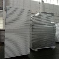 Quality waterproof  grey white 50mm eps sandwich panel with both side steel strip for wall wholesale