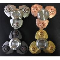 EDC New Russia CKF metal hand spinner, decompression fidget spinner toys factory price