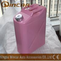 Cheap Durable 5L 10L 20L Fuel Petrol Metal Jerry Can For Storage With Flexible Spout for sale