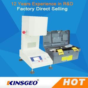 Quality MFR Melt Flow Index Machine , Electronic Melt Flow Index Tester KJ-3092B wholesale