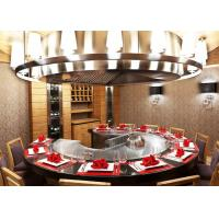 Quality Restaurant / Backyard Hibachi Grill Table Japanese Griddle CE ISO9001 Certification wholesale