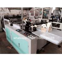 Quality HDPE / LDPE film Vest / T Shirt Bag Making Machine 6KW 220V 50HZ wholesale