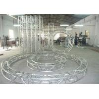 China Movable Circular Aluminum Stage Lighting Spigot Truss for Exhibition on sale