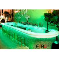 Quality Affordable modern design Acrylic Solid Surface nightclub LED bar counter wholesale