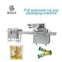 China Ice Lolly Packaging Machinery  No Cut Function 2.4KW Power Electric Driven on sale