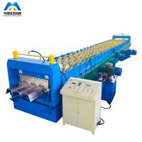 Buy cheap Steel Floor Decking Sheet Roll Forming Machine / Roll Former from wholesalers