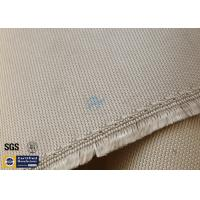 """Quality High Silica Fabric 800℃ 1200G 36"""" Wide Brown Chemical Resistant wholesale"""