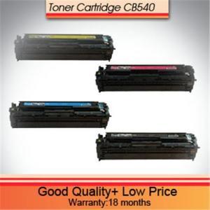 China HP laserjet cp1215 printer toner cb540a/cb541a/cb542a/cb543a on sale