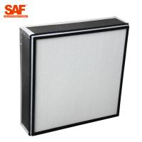 Buy cheap Disposable HEPA terminal filter units with Insulation cotton for cleanroom from wholesalers