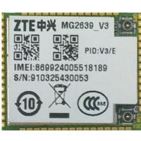 China ZTE mg2639 v3 GPRS GSM UART 2Gmodem module with GPS function for small home , power meter , GPS tracker  and POS on sale