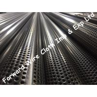 Buy cheap SS304 Stainless Steel Perforated Tube Customized Round Hole Diameter 76.2mm product