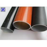 Quality 6063 - T5 Colorful Round Aluminum Tube Profiles For Telescopic Drying Rack wholesale