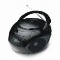 China CD/MP3 Boombox with USB Interface and AM/FM/Analogue Tuner on sale
