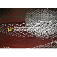 Quality 2440 X 1220 Wire Mesh Ceiling Panels , Expandable Metal Mesh Impact Proof wholesale