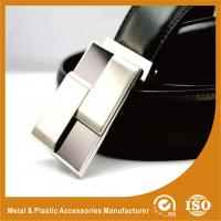 Quality 30mm Silver Plain Custom Silver Belt Buckles For Mens Fashion Belt Buckles wholesale