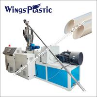 China PVC Pipe Production Line / Conical Twin Screw Extruder / PVC Pipe Twin Screw Extrusion Line on sale