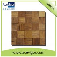 Quality Natural solid wood mosaic tiles for wall tiles wholesale