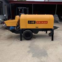 China L2650 * W1200 * H1400mm Portable Concrete Pump For Fine Stone 22kw Power 30 Type on sale
