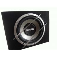 Quality Powered 500 Watt Car Subwoofer In Box , Single Car Subwoofer Enclosure wholesale