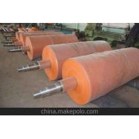 China Factory customized low price silicone rubber rollers, for printing or pipe coating rubber roller coating on sale