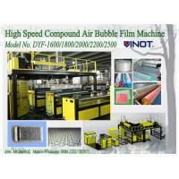Quality 1200 - 2000mm Width PE Air Bubble Film Machine With Back Unwinder Station wholesale
