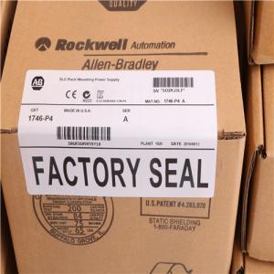 Quality Allen Bradley Modules 1746-P4 AB 1746-P4 SLC 500 Power Supply, Rack Mount 120/240V AC wholesale
