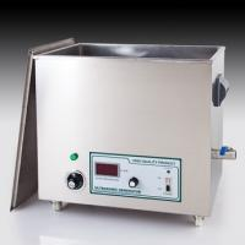 Cheap 27L 600W Big Mechanical Ultrasonic Cleaner / Industry Ultrasonic Cleaner / Small Table Cleaner for sale
