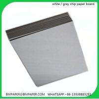 Quality Different GSM thickness grey board for folder from Guangzhou paper mill wholesale