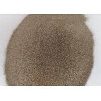 Quality F24 F30 Brown Aluminum Oxide Abrasive Media Magnetic Material 0.02% Max wholesale