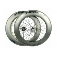 Quality 700C Carbon Fixed Gear Wheelset 88MM 20.5mm Width Tubular On Sale wholesale