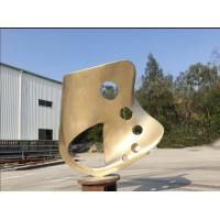 Quality Outdoor Abstract Steel Sculpture , Bronze Art Sculpture For Garden Ornaments wholesale