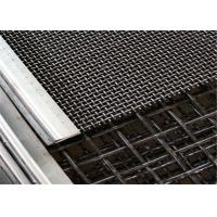 China Tension steel woven screen wire mesh for mining vibrating screen machine on sale
