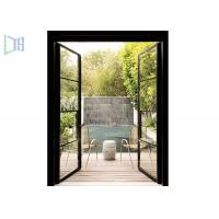 Quality Launch Aluminum Entry / Front Casement Door Low-E Glass For Residential wholesale