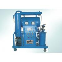 Cheap Triple Stage Filters Transformer Oil Filtration Machine For Online Work for sale