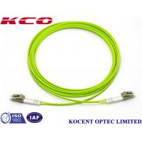 Quality LC-LC Duplex Multimode Fiber Optic Patch Cord 0.35dB Insertion Loss With Different Length wholesale